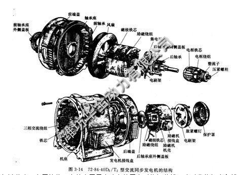12v硅直流发电机接线图